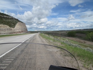 Wyoming countryside.