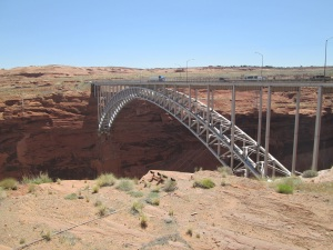 Bridge over the Colorado River.