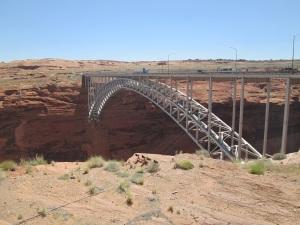 Bridge over the Colorado River.