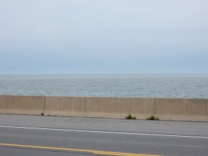 Lake Erie, looks just like the ocean