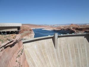 Glenn Canyon dam.