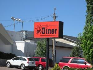 Diner along the highway.