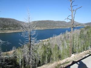 Nice lake.