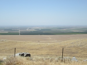 First view of the San Joaquin Valley.