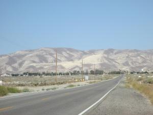 Strange looking hills.