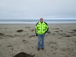 Me at the Pacific Ocean.