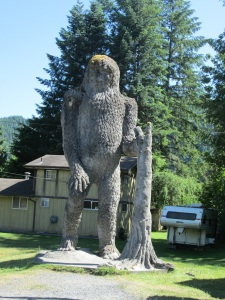 I saw Bigfoot! ;-)