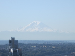 Mt. Reiner from the Space Needle
