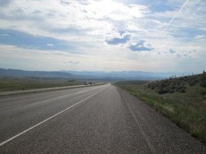 A long highway today.
