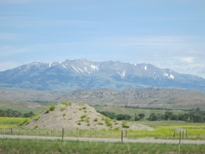 Leaving the Rocky Mountains behind.