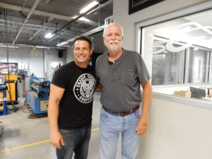 One of the TV stars from Orange County Choppers.